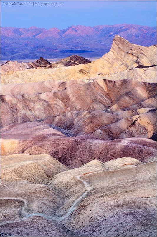 Забриски поинт, Долина смерти, США