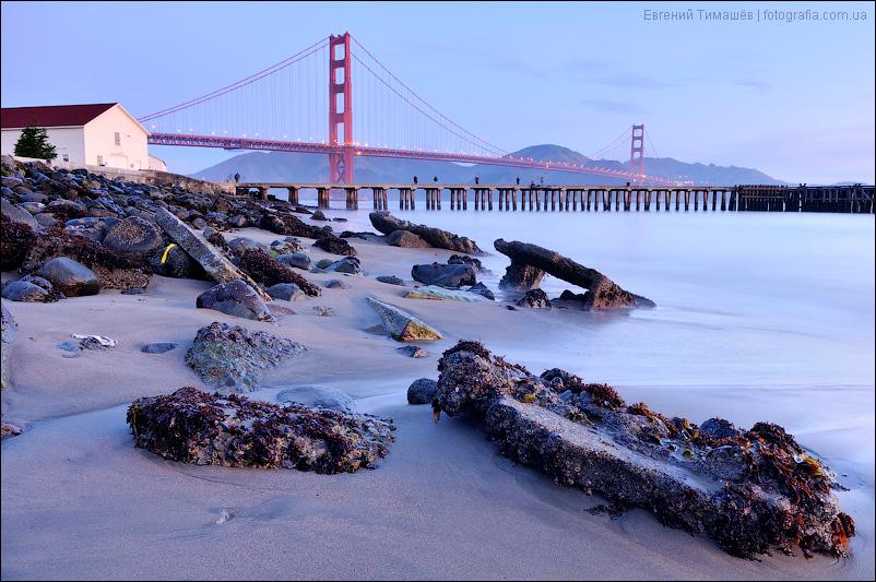 Мост Золотые ворота (Golden Gate Bridge), Сан-Франциско, США