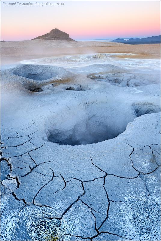 Исландия, район Myvatn, геотермальная зона Namafjall