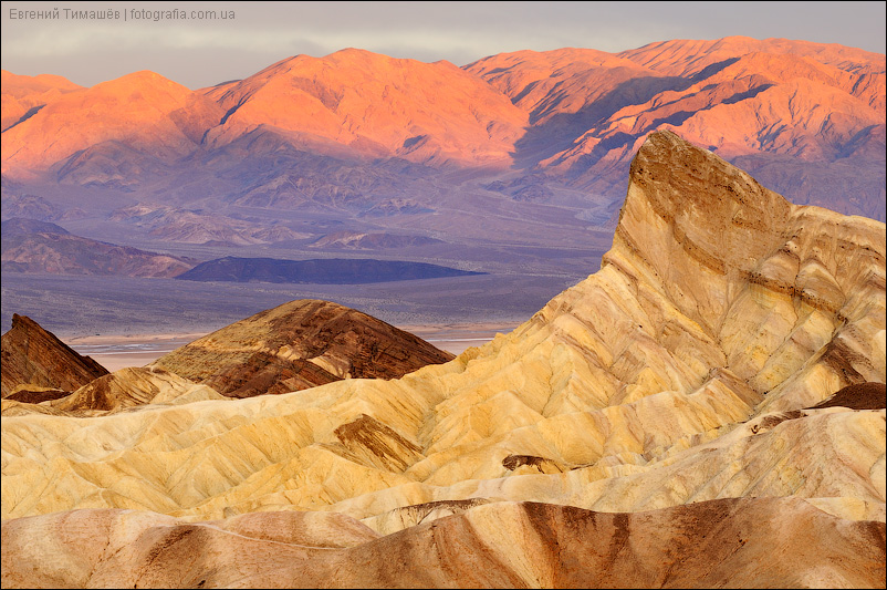Забриски поинт, США, Калифорния, Долина смерти