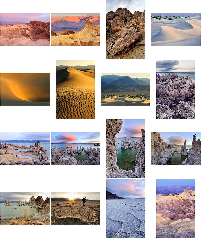 Долина смерти, озеро Моно, США