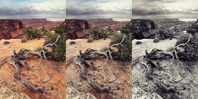Пейзаж национального парка Каньонлэндс (Canyonlands), США