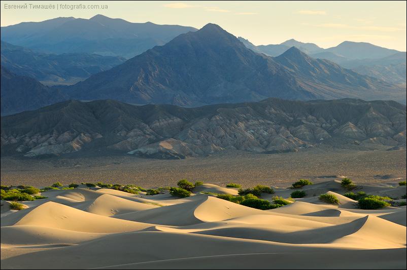 Мескитовые дюны, Долина смерти, США