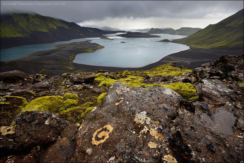 Исландия, озеро Лангисьоур (Langisjor)