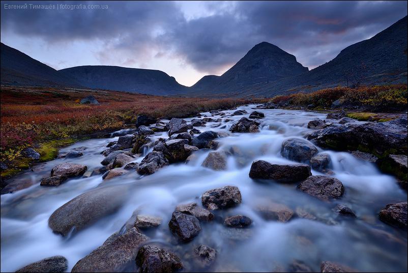 Хибины, долина реки Малая Белая, горы