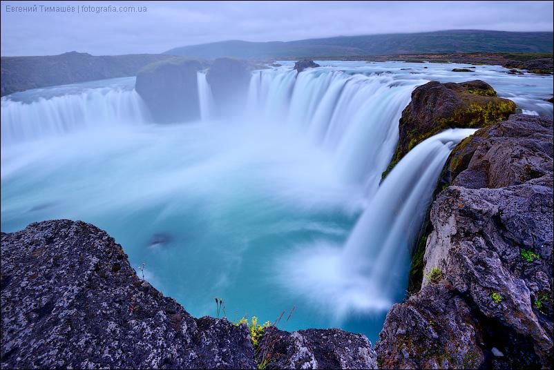 Водопад Годафосс (Godafoss), Исландия
