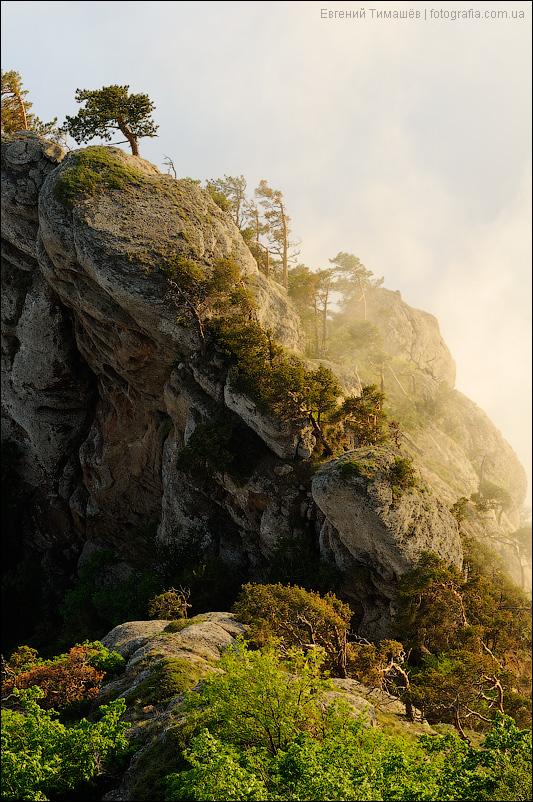 Крым, Демерджи, скалы, пейзаж