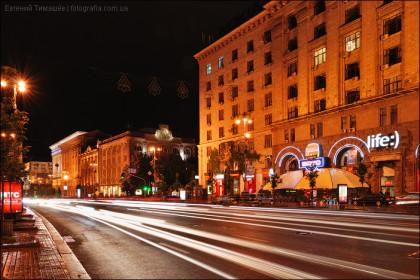 Вечерний Киев - Крещатик