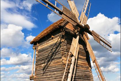 Ветряк в Пирогово
