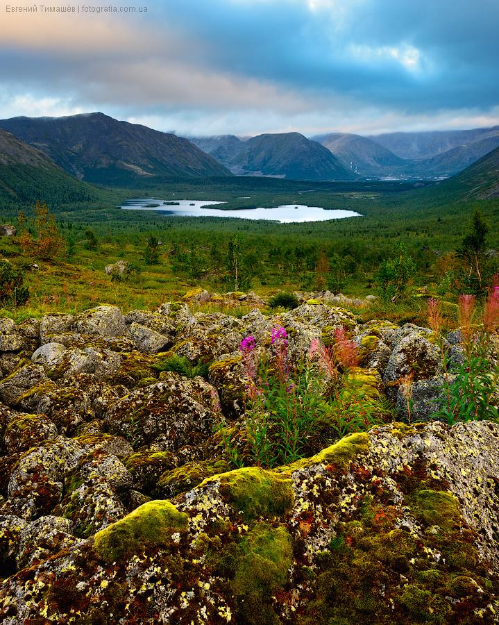 Хибины, озеро Малый Вудьвр