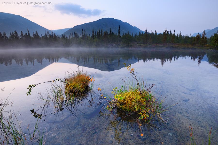 Хибины, полигональные озера