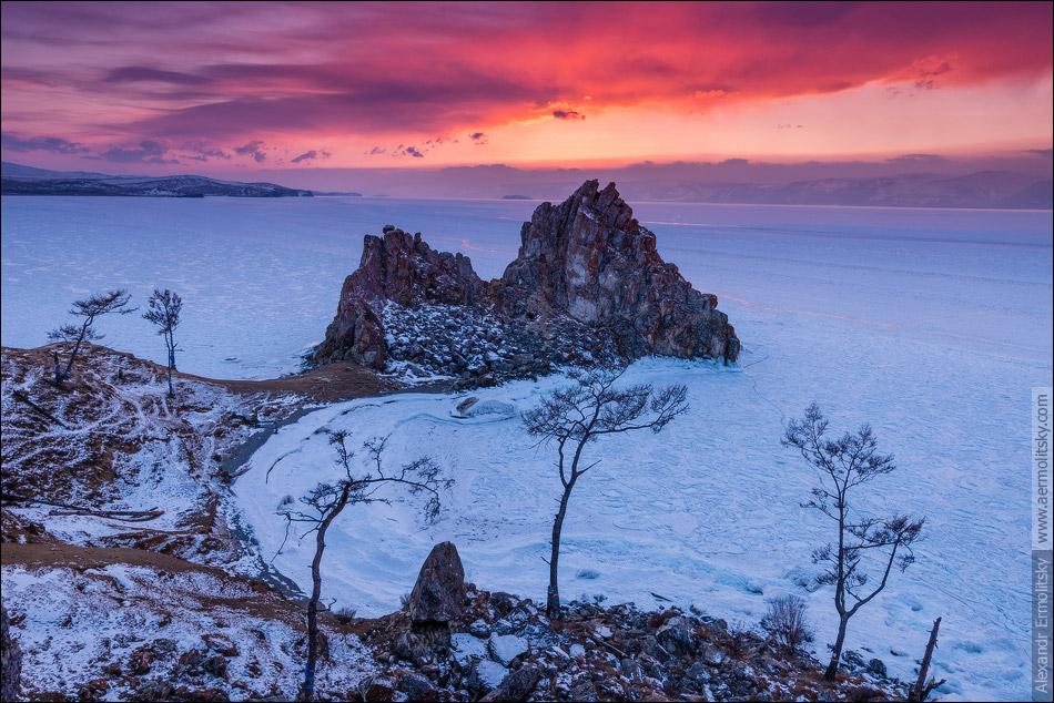 Russia, Irkutsk Oblast, Baykal lake