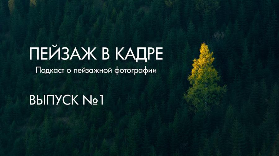"Подкаст ""Пейзаж в кадре"" Евгения Тимашёва"