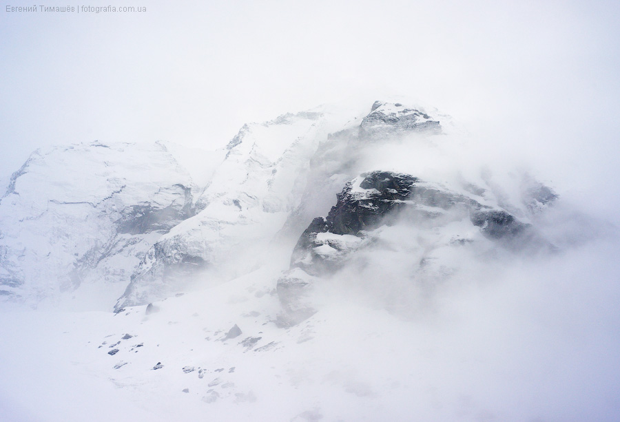 Непал, горы, пейзаж, ABC