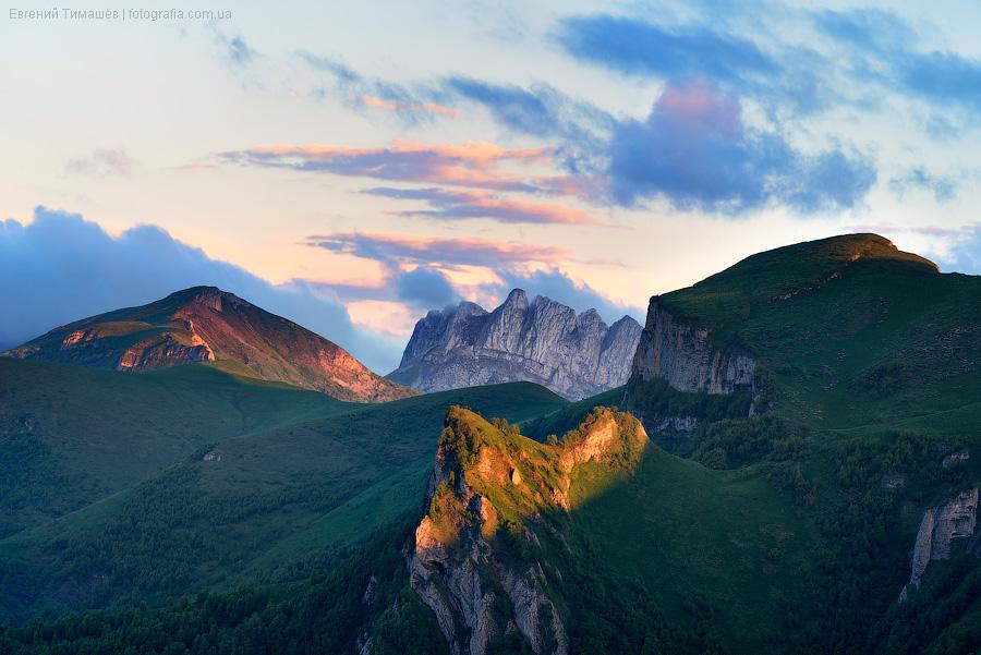 Малый Тхач, Кавказ