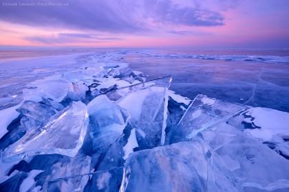 Байкал, Россия, лед, Ольхон, Ташкиней