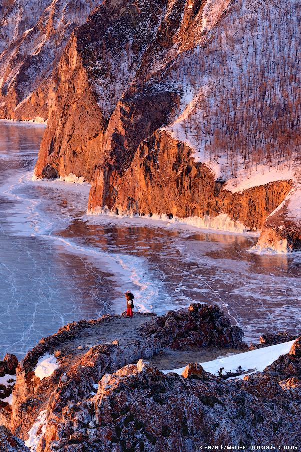 Байкал, Россия, лед, Ольхон, Узуры