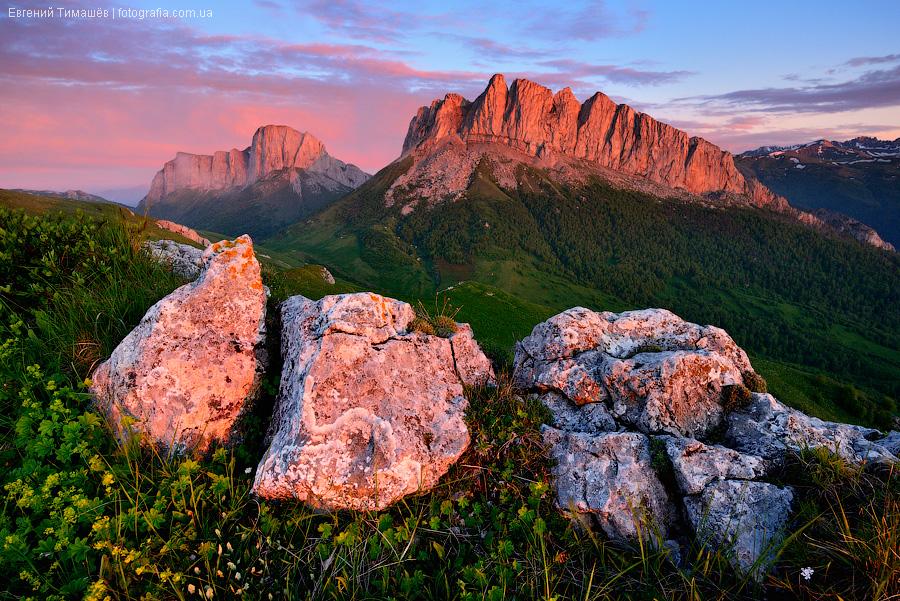 Большой Тхач, Адыгея, Россия, Кавказ