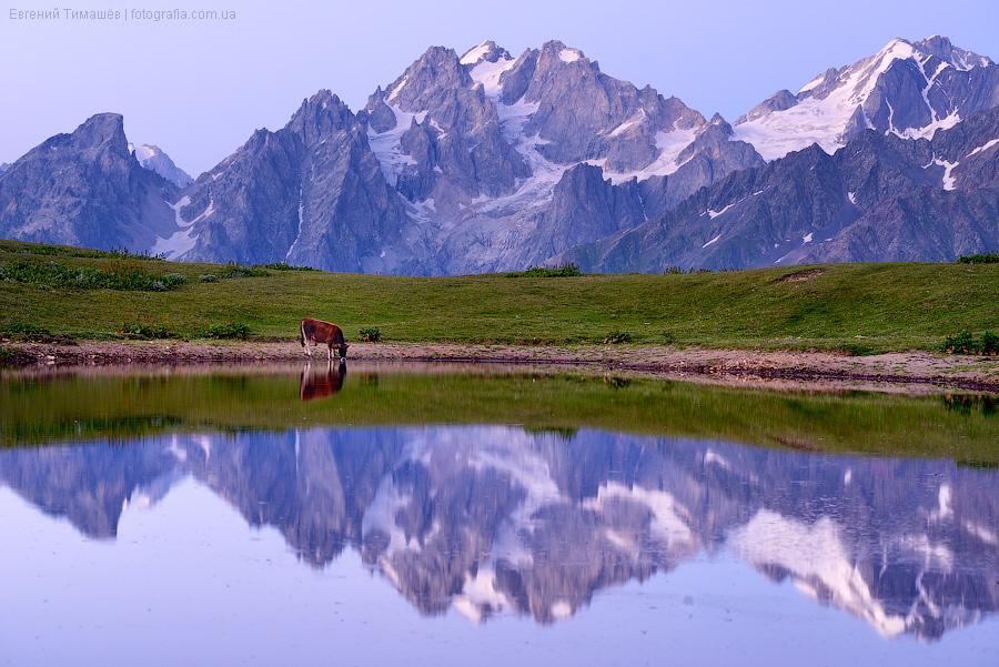 Сванетия, Грузия, горы, Кавказ